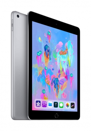 ihocon: Apple iPad (Wi-Fi, 128GB) - Space Gray (Latest Model最新型)