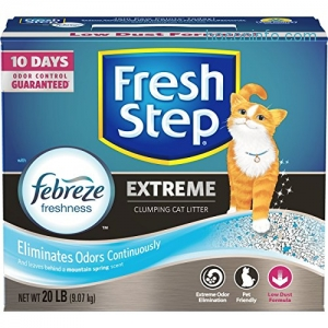 ihocon: Fresh Step Extreme with Febreze Freshness Clumping Cat Litter猫砂