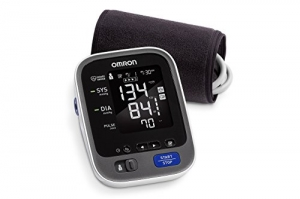 ihocon: Omron歐姆龍 10 Series Wireless Bluetooth Upper Arm Blood Pressure Monitor with Two User Mode (200 Reading Memory) - Compatible with Alexa