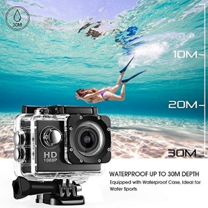 ihocon: 防水運動相機 + 配件