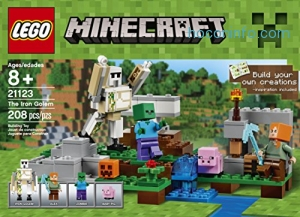 ihocon: LEGO 樂高積木 Minecraft The Iron Golem 21123