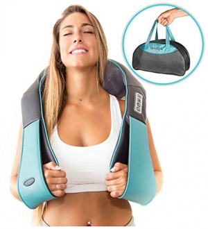 ihocon: Shiatsu Back Neck and Shoulder Massager with Heat 肩頸部加熱按摩器