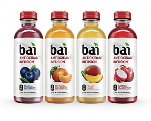 Bai Flavored Water 12瓶 $11.19免運(原價$15.99, 30% Off)