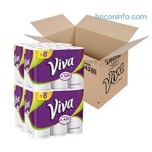 ihocon: Viva STRONG and SOFT towels, 24 Big Plus Rolls, Choose-A-Sheet* Paper Towels廚房紙巾