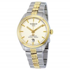 ihocon: Tissot PR100 Chronometer Two-tone Men's Watch T1014512203100 天梭雙色男錶