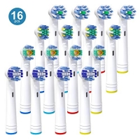 ihocon: iTrunk 16 Pack Electric Toothbrush Heads Compatible with Oral B 電動牙刷替換刷頭(適用Oral-B)