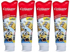 ihocon: Colgate Kids Toothpaste with Anticavity Fluoride, Minions - 4.6 ounces (4 Pack) 高露潔含氟防蛀齒兒童牙膏