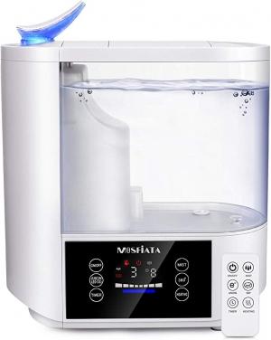 Mosfiata 5L 冷/熱 室內加濕器(遙控及訂時) $49.99免運(原價$79.99)