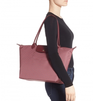 ihocon: Longchamp Large Le Pliage Dandy Print Top Handle Tote  大包包