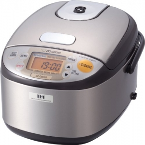 ihocon: Zojirushi NP-GBC05XT Induction Heating System Rice Cooker and Warmer 不銹鋼電飯鍋
