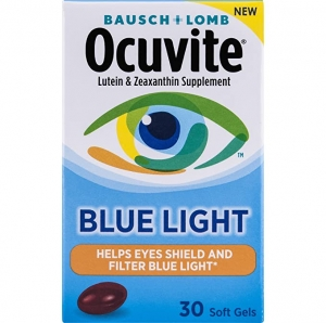 ihocon: Bausch + Lomb Ocuvite Blue Light Defense, 30 Count 博士倫抗藍光眼睛保健品