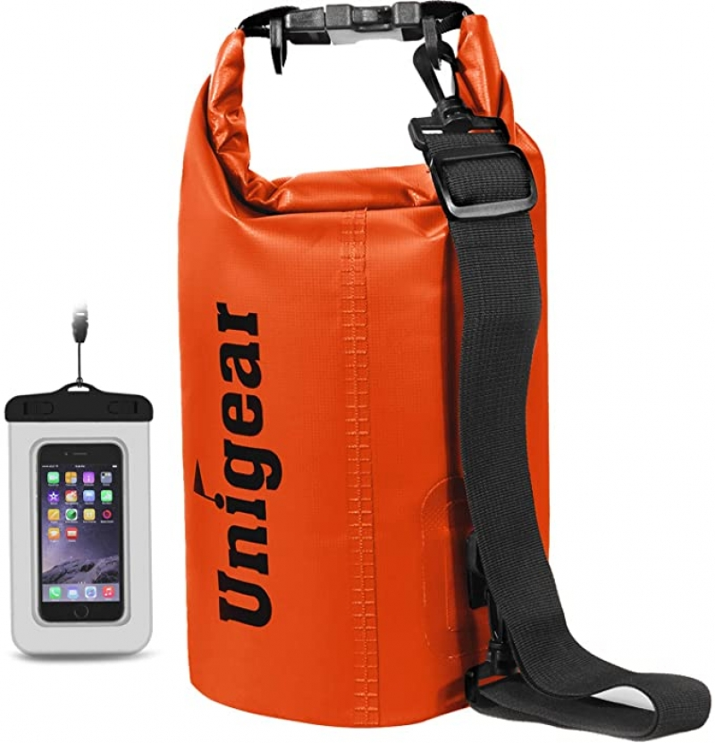 ihocon: Unigear Dry Floating and Lightweight Bags with Waterproof Phone Case 防水背袋及防水手機袋