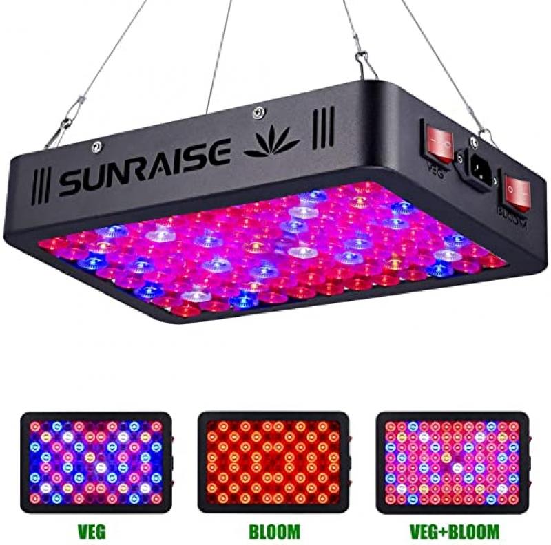 ihocon: Sunraise 1000-Watt LED Full Spectrum Grow Light with Daisy Chain 植物生長燈