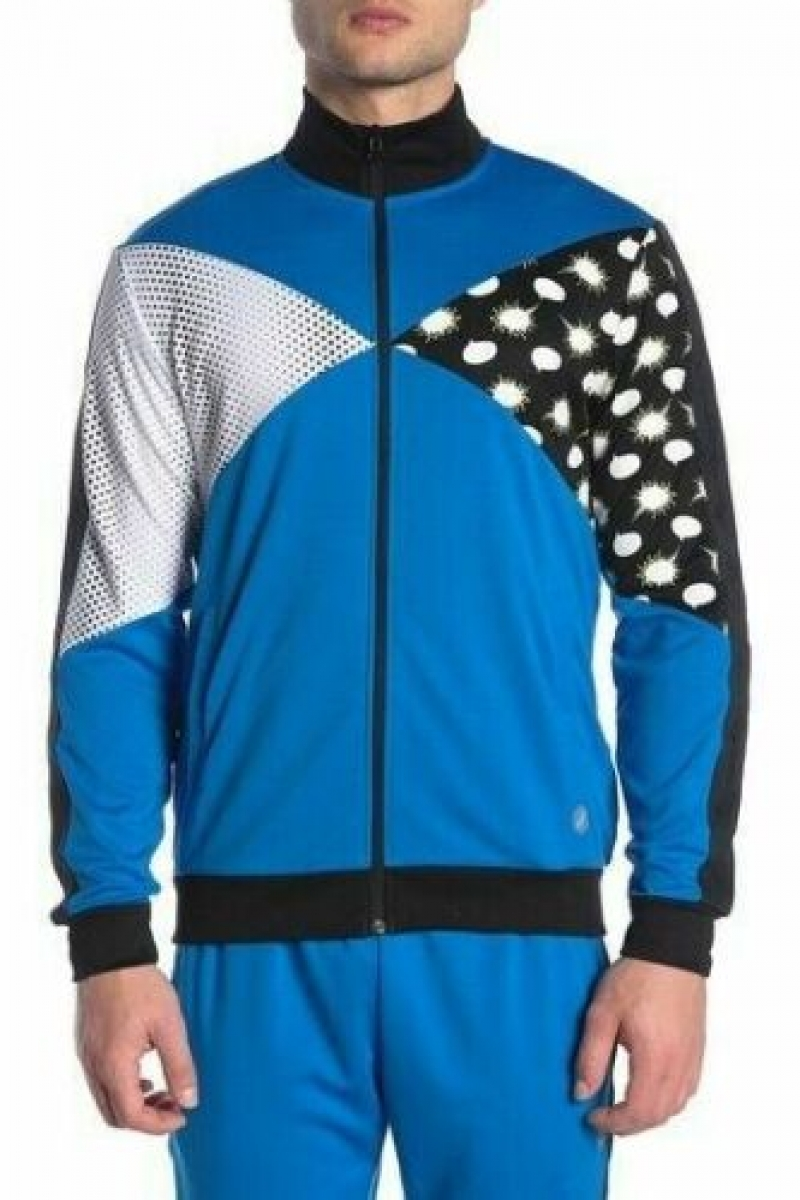 ihocon: ASICS Tiger Men's Track Jacket 男士夾克