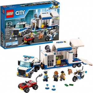 ihocon: LEGO City Police Mobile Command Center Truck 60139 Building Toy(374 Pieces)