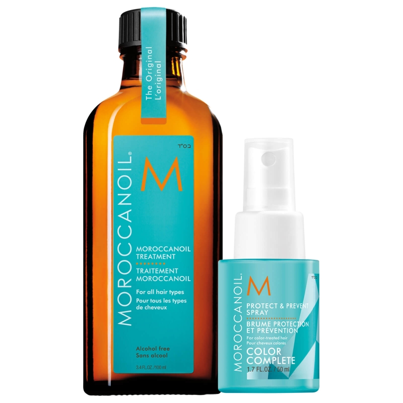 ihocon: Moroccanoil Treatment with Free Protect & Prevent Spray 摩洛哥護髮油及保護噴霧