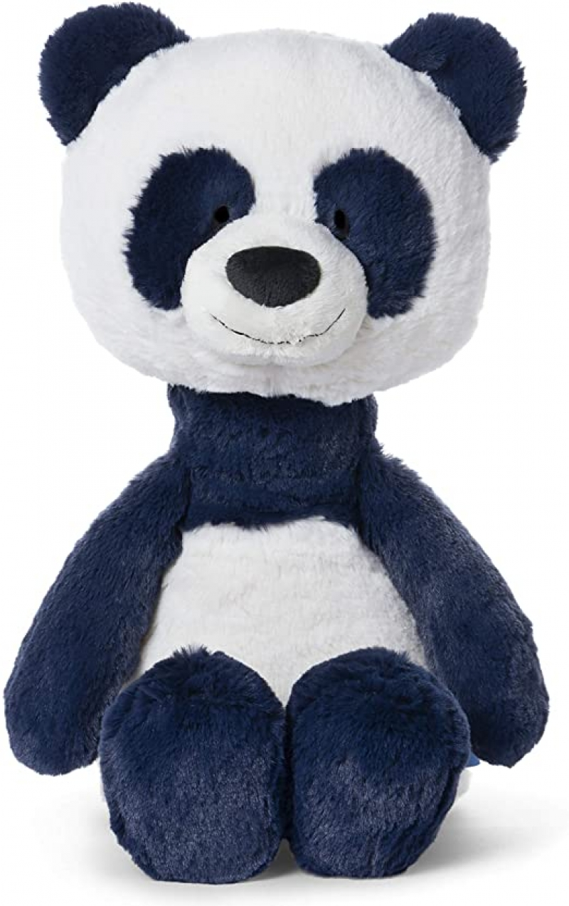 ihocon: Baby GUND Baby Toothpick Cooper Panda Plush Stuffed Animal, Blue, 16吋絨毛玩具