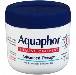 ihocon: Aquaphor Healing Ointment - Moisturizing Skin Protectant for Dry Cracked Hands, Heels and Elbows - 14 oz. Jar