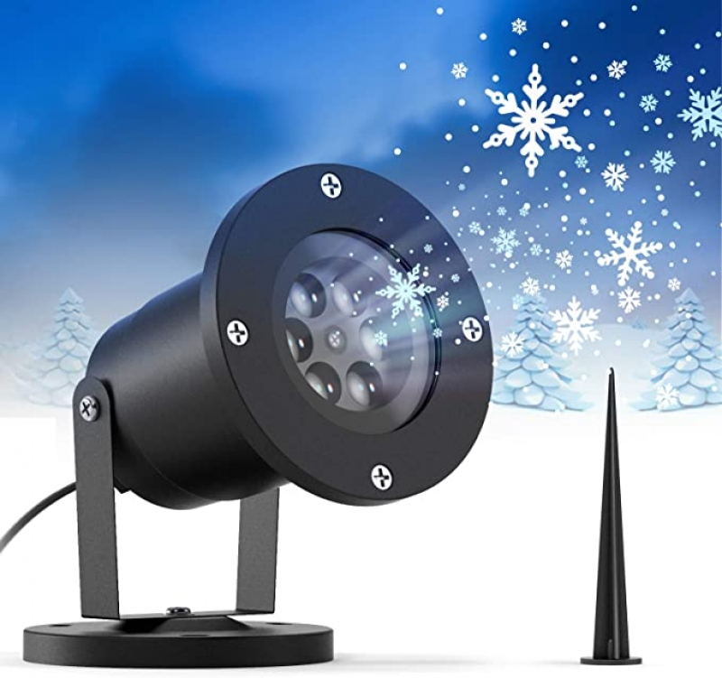 ihocon: Ltteny Christmas Snowflake Projector Lights 聖誕雪花投影燈