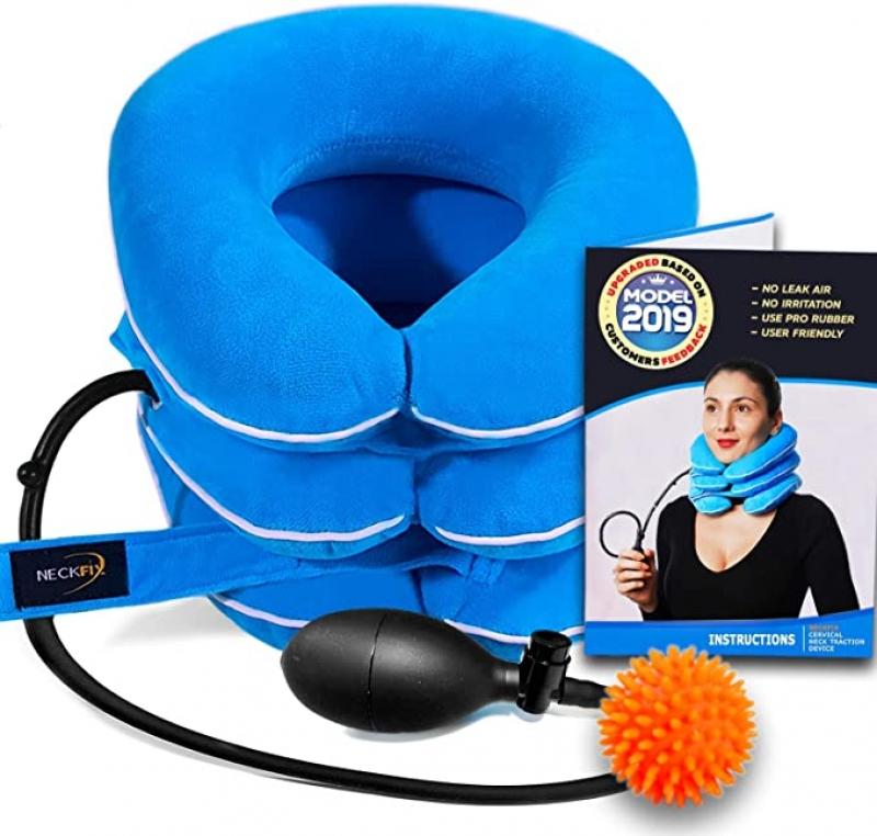 ihocon: NeckFix Cervical Neck Traction Device 充氣式頸椎牽引器