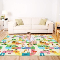ihocon: Bammax Folding Play Mat, 70 x 77.5 x 0.6 折疊遊戲墊