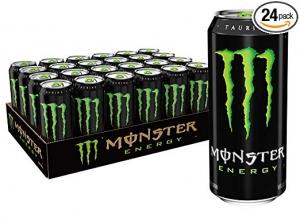 ihocon: Monster Energy Drink, Green, Original, 16 Ounce (Pack of 24) 能量飲料