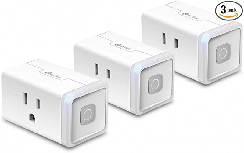 ihocon: TP-Link HS103P3 10 Amp Kasa Smart WiFi Plug Works With Alexa Echo & Google Assistant, 3-Pack 智能插座