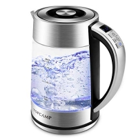 ihocon: TopCamp Glass Electric Kettle, 1.7L玻璃電熱水瓶