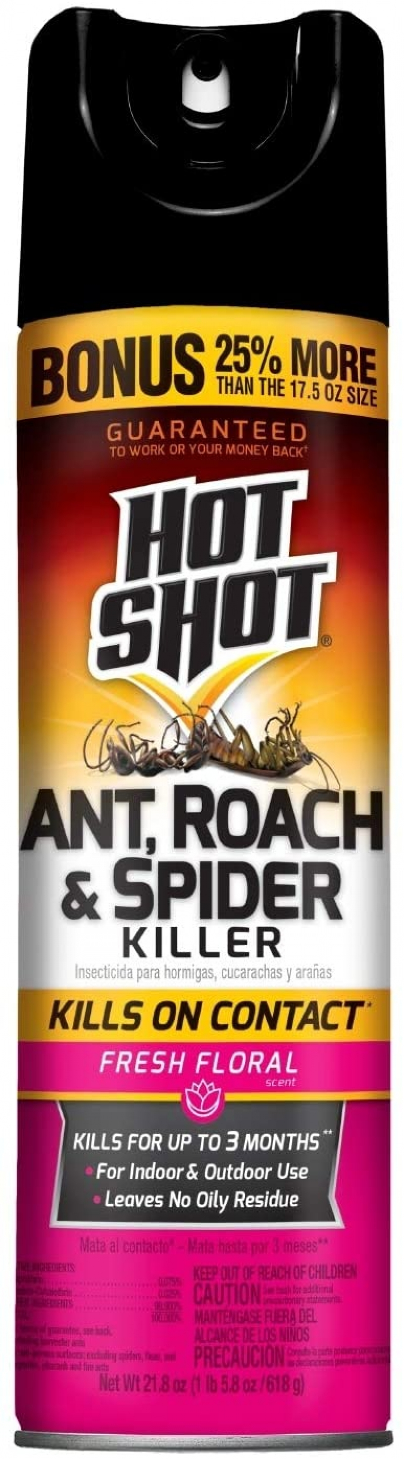 ihocon: Hot Shot, 21.8 oz 殺蟲劑 (蟑螂,螞蟻,蜘蛛)