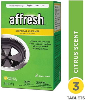 ihocon: Affresh W10509526 Disposal Cleaner, 3 Piece  10509526廚餘處理機清潔劑