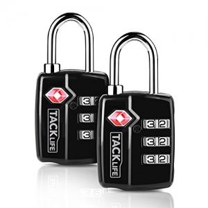 ihocon:  TACKLIFE Luggage Locks, 2 Packs 行李鎖