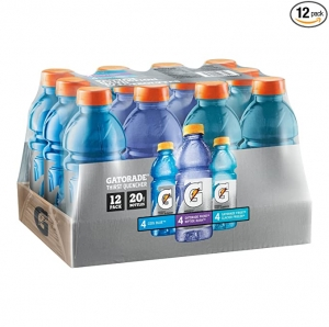 ihocon: Gatorade Original Thirst Quencher 3-Flavor Frost Variety Pack, 20 ounce, 12 count 運動飲料(含電解質)