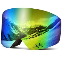 ihocon: Wantdo Cylindrical Ski Goggles Anti-Fog Interchangeable Lens滑雪護目鏡