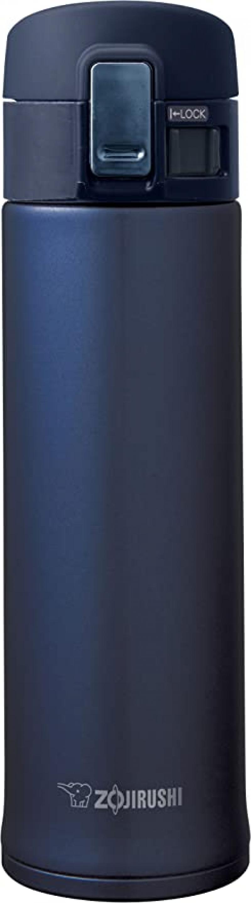 ihocon: Zojirushi Stainless Steel Mug, 16oz, Smoky Blue 象印不銹鋼保温杯