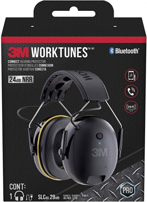 ihocon: 3M WorkTunes Connect Hearing Protector with Bluetooth technology 聽力保護藍芽耳機