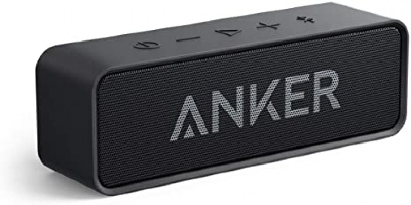 ihocon: Upgraded, Anker Soundcore Bluetooth Speaker with IPX5 Waterproof, Stereo Sound藍牙無線防水揚聲器