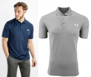 ihocon: Under Armour Men's Short Sleeve Performance Polo  男士短袖Polo衫-多色可選