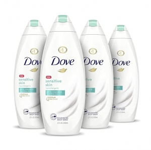 ihocon: Dove Body Wash 22 oz, 4 Count 沐浴乳