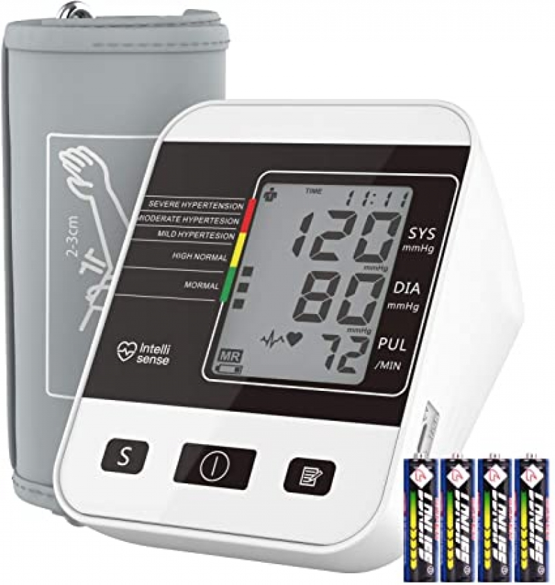 ihocon: Annsky Digital Upper Arm Blood Pressure and Heart Rate monitor 上臂血壓計