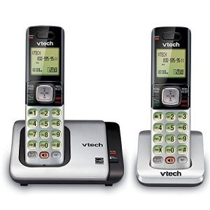 ihocon: VTech CS6719-2 2-Handset Expandable Cordless Phone with Caller ID/Call Waiting, Handset Intercom & Backlit Display/Keypad 無線家用電話