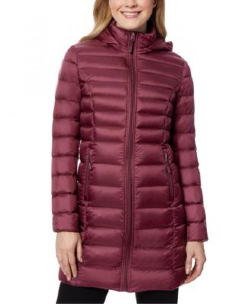 ihocon: 32 Degrees Packable Hooded Down Puffer Coat 女士連帽羽絨大衣-多色可選