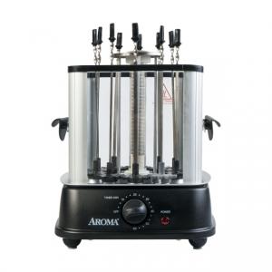 ihocon: AROMA 不銹鋼自動旋轉串烤BBQ機