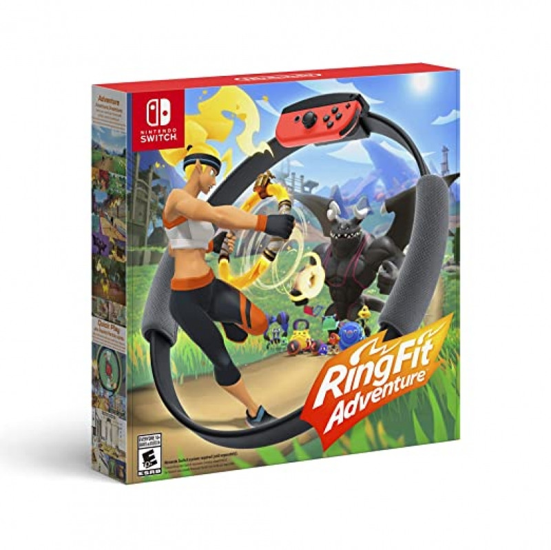 Nintendo Switch遊戲 – Ring Fit Adventure $69.88免運