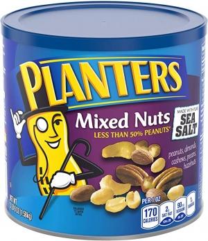 ihocon: Planters Mixed Nuts with Pure Sea Salt, 56oz 綜合堅果