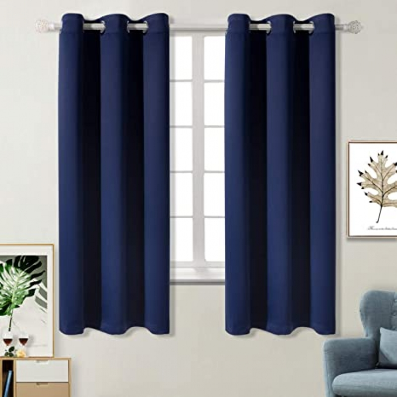 ihocon: BGment Blackout Curtains for Bedroom, Set of 2 Panels (42 x 63 Inch) 遮光窗簾