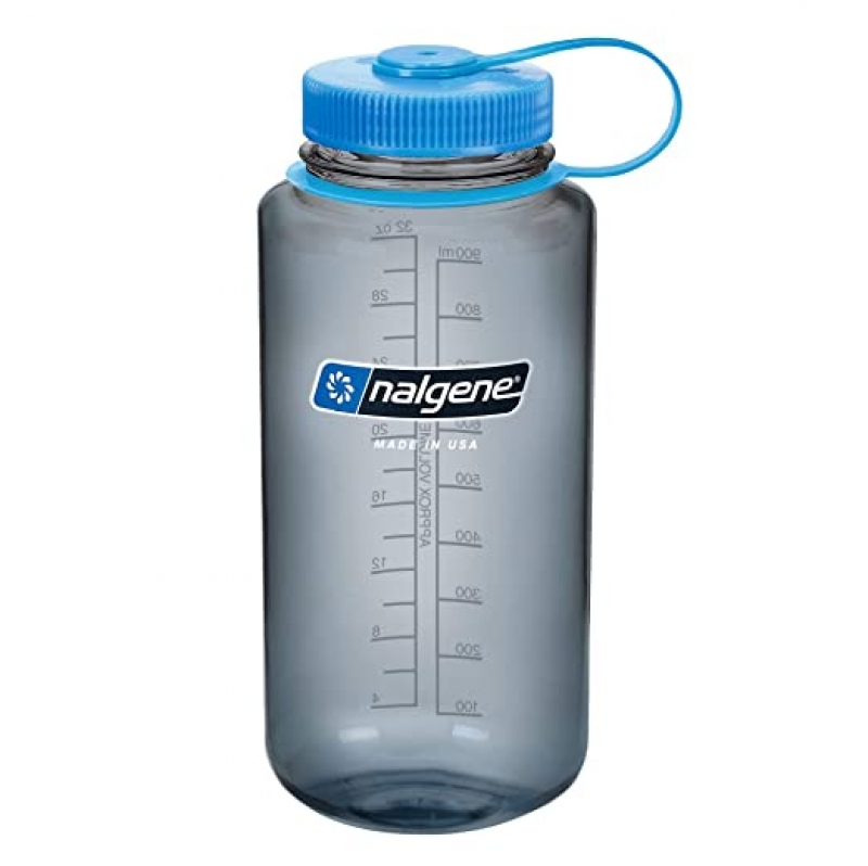 ihocon: Nalgene Tritan Wide Mouth BPA-Free Water Bottle, 1 Quart寬口水瓶
