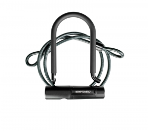 ihocon: Kryptonite Mini 12mm U-Lock Bicycle Lock & 8mm Looped Bike Security Cable自行車鎖