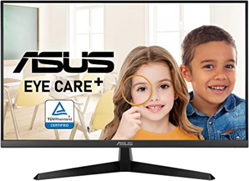 ihocon: Asus VY279HE 27吋 Widescreen Full HD 1080p 75Hz IPS LED Monitor 護眼電腦螢幕
