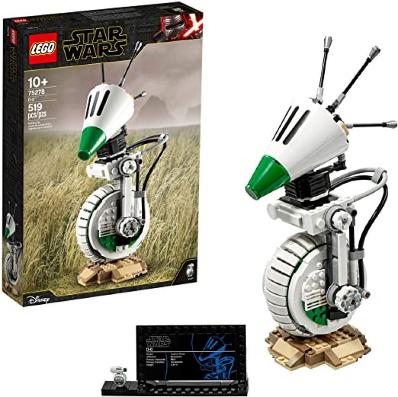 ihocon: [2020新款] 樂高星球大戰LEGO Star Wars: The Rise of Skywalker D-O 75278 Building Kit, New 2020 (519 Pieces)