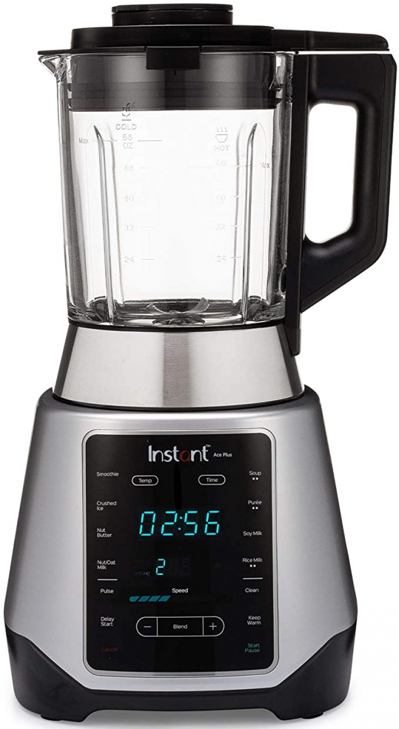 ihocon: Instant Ace Plus Cooking Blender, Hot and Cold, 10 One Touch Programs,56 oz, 1300W食物調理機